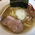 ら~めん 熊八 - 料理写真:ら〜めん熊八(塩・八王子らーめん)