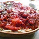イタリアンカフェ マリナーラ - これ3名分のスパゲティ(1000円)です。