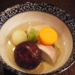 門下 てっ太 - 冬季限定・京野菜炊き合わせ