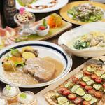 ODECO - コース料理(一例)