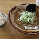 ラーメン むてっぽう - 醤油チャーシュー麺。