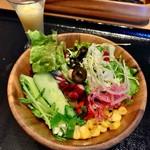CEDAR THE CHOP HOUSE&BAR - 朝食(\2,000) サラダ