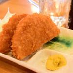 立飲みカドクラ - ハムカツ@税込300円