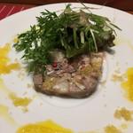 ABARIS - 料理内容…メモれませんでしたが、コースの前菜です