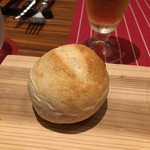 ABARIS - 自家製フランスパン♪可愛い♪外はパリッ♪中はもっちり♪