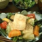 PUBLIC KITCHEN cafe - 17/7 ふんわり揚げ出し豆腐 和風あんかけ:900円(夜)