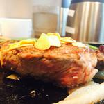 いきなりステーキ - 厚みは最大で3㎝程度ありました✨