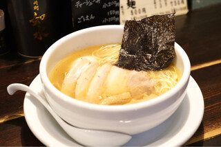 ラーメン専門店 徳川町 如水 - ■塩ラーメン全部乗せ 980円
