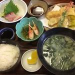 活魚料理 讃岐家 - 料理写真:讃岐家定食Aセット
