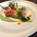 ジ・オリエンタルテラス - メインランチの前菜です。       綺麗です。然も美味しい!