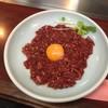 Chisakaya - 料理写真:国産牛ユッケ