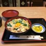 つるてん生楽 - 今回は、親子丼の普通サイズです(2017.7.18)