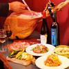 有機野菜のチーズフォンデュ&イタリア産生ハム 食べ放題付パーティーコース 2500円