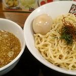 玉五郎 - 【塩煮干しつけ麺 並 + 味付け玉子】¥780 + ¥100