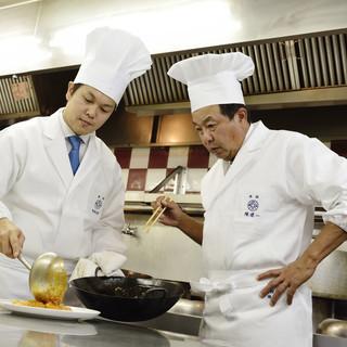 「料理の鉄人」として知られる陳建一、陳建太郎のお店