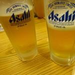 蕎麦前処 二尺五寸 - 生ビール一杯700円
