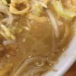 ら~めん コジマル - エマルジョンなスープ