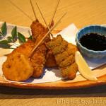 踊る魚 - 串揚げ