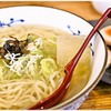 景虎 - 料理写真:冷やしラーメン 700円 魚介出汁の効いた冷製ラーメン。夏期限定なのかな?