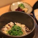 一華 - タコを新ショウガの釜飯