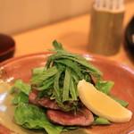 一華 - 佐賀牛の和風ステーキ