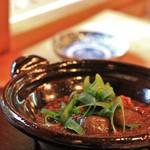 蓮香 - 賀茂ナスの味噌煮込み