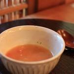 蓮香 - トマトの白湯スープ