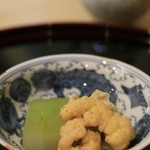 竹久 - 炊き合わせ(鱧、とうがん、ゆば)