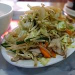 竹内食堂 - 「野菜いため」 アップ