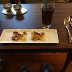 ジ・オリエンタルテラス - アイスコーヒーと共に頂きました。