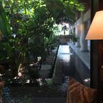 ジ・オリエンタルテラス - コーヒーを頂いた窓からの眺めです。