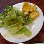 菜や - 料理写真:ランチ 前菜