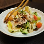 居酒屋 MOGURA - 豚しゃぶサラダ