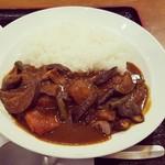 カフェ・ド・レストラン ベル - 料理写真:ビーフ野菜カレー‼