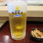 寿し忠 - サッポロビール静岡工場でつくられた静岡県限定
