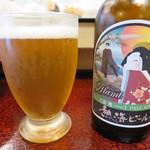 寿し忠 - 熱海ビール「浪漫」ペールエール