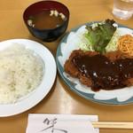 70229594 - トンカツ定食 810円