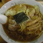 中華そば みのや - ワンタン麺大盛