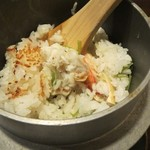Sapporokaniya - かに釜飯