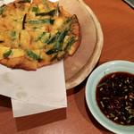 虎の穴 - チヂミ♡美味しい(๑˃̵ᴗ˂̵)