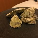レストラン ラ フィネス - シカメ牡蠣
