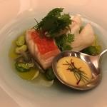 レストラン ラ フィネス - 2.8k金目鯛 京風ブイヤベース