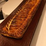 レストラン ラ フィネス - 名物!鮎とトリュフのパイ