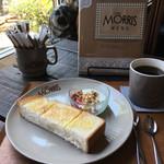 カフェ モーリス - モーニングセット500円