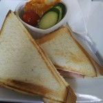 70239737 - ハム&チーズのホットサンド