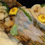 積丹浜料理 第八 太洋丸 - 新鮮な貝類のお刺身は歯ごたえが違います!
