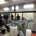 井手ちゃんぽん - 厨房