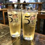 5感 小皿イタリアン&ワイン - ハイボール(税別500円)
