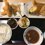 陣屋 - 上天ぷら定食=880円