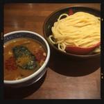 三田製麺所 - 灼熱つけ麺 中盛り 860円